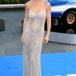 Elsa Pataky Clothes - Beaded Dress
