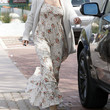 Elsa Pataky Clothes - Print Dress