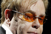 Elton John Rimless Sunglasses