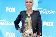 Emeli Sande Leather Jacket