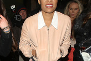 Emeli Sande Zip-up Jacket