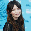 Emily Browning Long Center Part