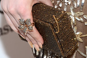 Emma Roberts Hard Case Clutch