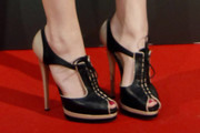 Emma Stone High Heel Oxfords