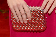 Emma Stone Studded Clutch