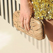 Emma Watson Leather Clutch