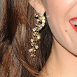 Emmy Rossum Dangling Crystal Earrings