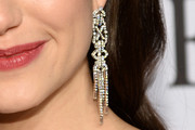 Emmy Rossum Chandelier Earrings