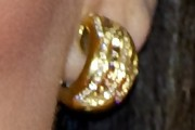 Eva Longoria Hoop Earrings