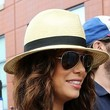 Eva Longoria Hats - Straw Hat