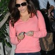 Eva Longoria Clothes - V-neck Sweater