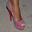 Evelyn Lozada Shoes - Peep Toe Pumps