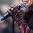 Faith Hill Leather Gloves