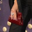 Faith Hill Patent Leather Clutch