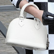 Fan Bingbing Handbags - Leather Bowler Bag