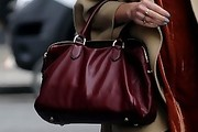 Fearne Cotton Leather Bowler Bag