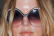 Fergie Oversized Sunglasses