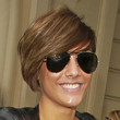 Frankie Sandford Short cut with bangs