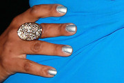 Garcelle Beauvais Metallic Nail Polish