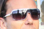 Gavin Rossdale Designer Shield Sunglasses