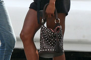 Genevieve Jones Studded Tote