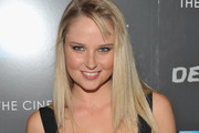 Genevieve Morton Long Straight Cut with Bangs