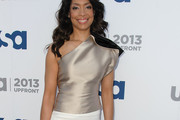 Gina Torres One-Shoulder Top