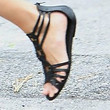 Gisele Bundchen Shoes - Gladiator sandals