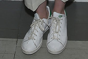 Anne Hathaway Leather Sneakers