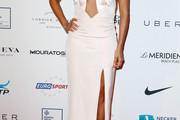 Eva Longoria Cutout Dress
