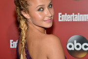 Hayden Panettiere Long Braided Hairstyle