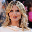 Heidi Klum Hair - Medium Layered Cut