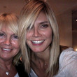 Heidi Klum Hair - Medium Straight Cut with Bangs