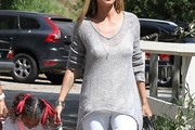Heidi Klum V-neck Sweater
