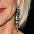 Helen Mirren Dangling Diamond Earrings