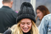 Hilary Duff Winter Hats
