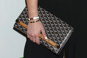 Hilary Duff Printed Clutch