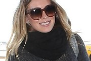 Hilary Duff Solid Scarf