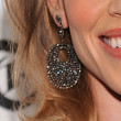 Hilary Swank Dangling Diamond Earrings