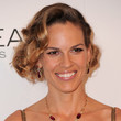 Hilary Swank Hair - Pinned Up Ringlets
