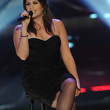 Hillary Scott Clothes - Strapless Dress