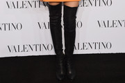 Padma Lakshmi Over the Knee Boots