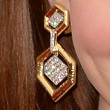 Holland Roden Gold Dangle Earrings