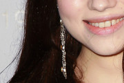 India Eisley Dangling Chain Earrings