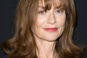 Isabelle Huppert Medium Curls with Bangs