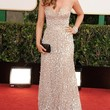 Isla Fisher Clothes - Beaded Dress