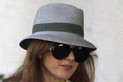 Isla Fisher Straw Hat