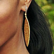 Jada Pinkett Smith Jewelry - Gold Dangle Earrings