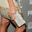 Jaime Pressly Gemstone Inlaid Clutch