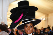 Janelle Monae Dress Hats